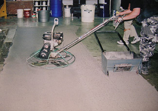 7. Power Trowel